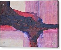 Abstract Ruins Acrylic Print