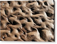 Abstract Sand 3 Acrylic Print by Arie Arik Chen