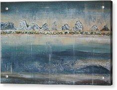 Abstract Scottish Landscape Acrylic Print
