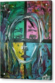 Abstract Sorrow Acrylic Print by Lee Farley
