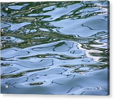 Abstract Waters I Acrylic Print