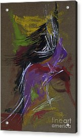 Abstract Woman Acrylic Print
