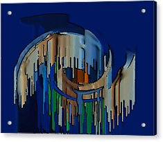 Abstracto 89478947894799 Acrylic Print by Rod Saavedra-Ferrere