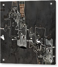 Abstrait En Do Majeur A2 Acrylic Print by Aimelle