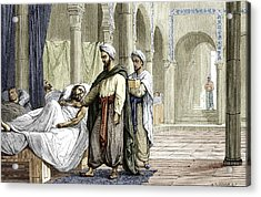 Abulcasis, Islamic Physician Acrylic Print by Sheila Terry