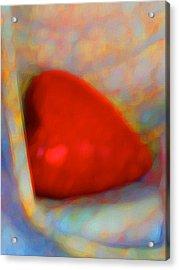 Acrylic Print featuring the digital art Abundant Love by Richard Laeton
