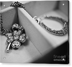 Accessorize  Acrylic Print by Andrea Hurley