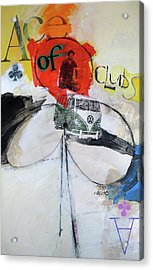 Ace Of Clubs 36-52 Acrylic Print