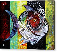 Acidfish 70 Acrylic Print by J Vincent Scarpace