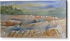 Acres Of Land Acrylic Print by Ramona Kraemer-Dobson