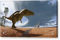 Acrocanthosaurus Acrylic Print