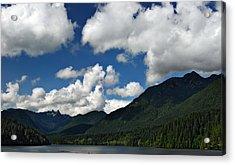 Across Capilano Lake Acrylic Print