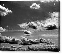 Across Sky Acrylic Print by Yury Bashkin