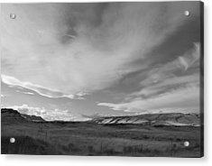 Acrylic Print featuring the photograph Across The Valley by Kathleen Grace