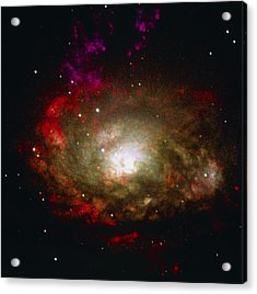 Active Galaxy Acrylic Print by Nasaesastscia.wilson, Umd, Et Al.