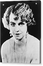 Actress Dorothy King Was A Broadway Acrylic Print by Everett