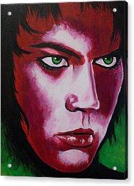 Adam Lambert - Intensity Acrylic Print