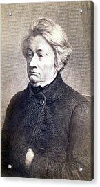 Adam Mickiewicz 1798-1855 Great Polish Acrylic Print by Everett