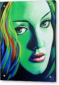 Adele - Rumour Acrylic Print