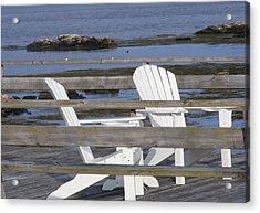 Adirondack Relaxin' Acrylic Print by Carol Bruno