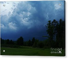 Adirondack Thunderstorm Acrylic Print by Peggy Miller