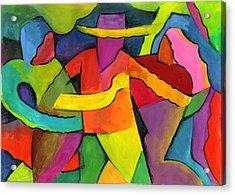 Adoracion Acrylic Print by John Crespo Estrella