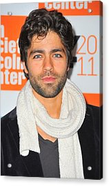 Adrian Grenier At Arrivals For George Acrylic Print by Everett