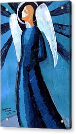 Adrongenous Angel Acrylic Print by Genevieve Esson