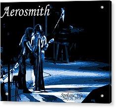 Aerosmith In Spokane 12c Acrylic Print by Ben Upham