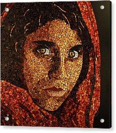 Afghan Girl II Acrylic Print