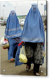 Afghan's Veil Acrylic Print