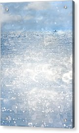 Afloat Acrylic Print by Richard Piper