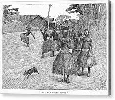 Africa: Ndoge Brotherhood Acrylic Print by Granger
