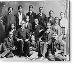 African American Academic Students Acrylic Print by Everett