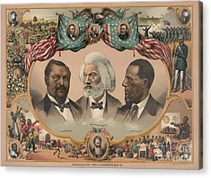 African Americans, C1881 Acrylic Print by Granger