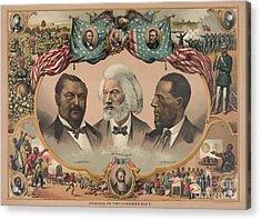African Americans, C1881 Acrylic Print