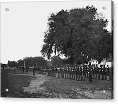 African Americans Soldiers Of The 29th Acrylic Print by Everett