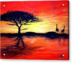 African Retreat Acrylic Print