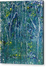 Acrylic Print featuring the painting After Monet by Dolores  Deal