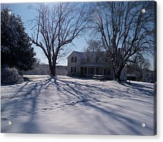 After Snow  Acrylic Print by Maria Blumberg