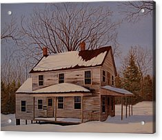 Acrylic Print featuring the painting After The Storm by AnnaJo Vahle