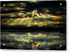 After The Storm Acrylic Print by Gary Smith