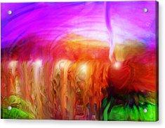 After The Storm Acrylic Print by Linda Sannuti