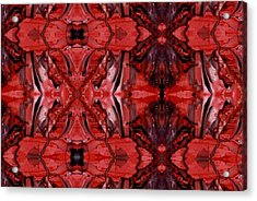 Afterglow Pattern Acrylic Print by Dan Cope