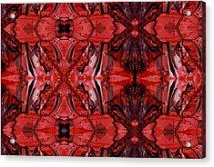 Afterglow Pattern Acrylic Print by Dan Cope