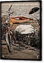 Hanioti, Greece - Afternoon At The Beach Acrylic Print