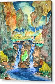 Acrylic Print featuring the painting Afternoon Delight by Cheryl Pettigrew