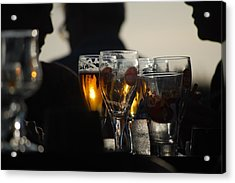 Afternoon Drinks Acrylic Print by Dickon Thompson