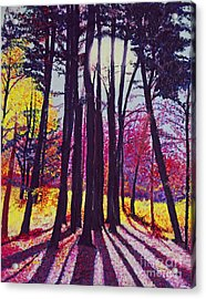 Afternoon Forest Acrylic Print