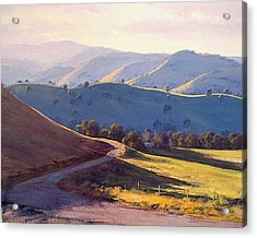 Afternoon Light Kanimbla Valley Acrylic Print by Graham Gercken